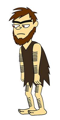 caveman_by_DekuGamer_deviantart